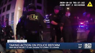 ABC15 launches 'Rethinking Policing' to drive criminal justice reform