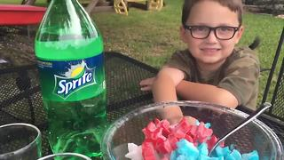 How to make your kid's Fourth Of July drinks fun - Video