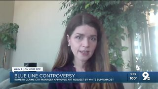 Update: Romero claims city manager approved art request by white supremacist