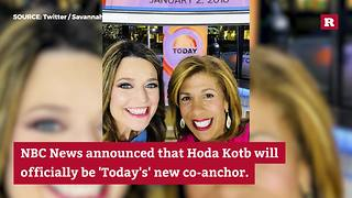 Hoda Kotb's big promotion on the 'Today' Show | Rare People - Video