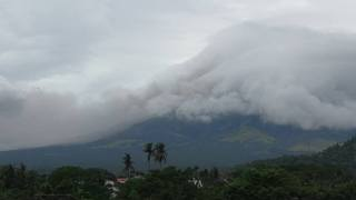 Ash Spews From Mayon Volcano in Phillipines as Emergency Alert Issued - Video