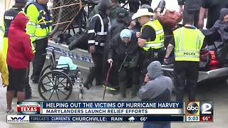 Marylanders launch relief efforts for Harvey victims - Video