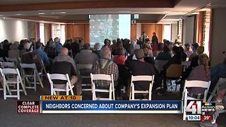 Neighbors discuss Lone Jack meat plant expansion - Video