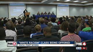 'White Racism' class to be taught at FGCU