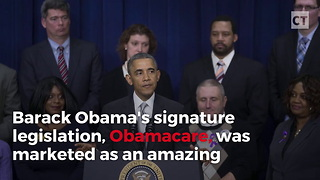 Obamacare Penalty Hits Middle Class Hardest - Video