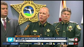 Federal immigration agencies, Florida Sheriffs announce public safety efforts regarding undocumented criminals