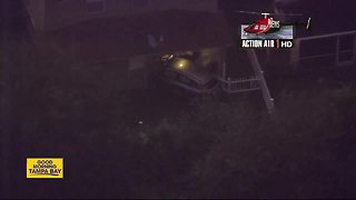 Vehicle crashes into home in Riverview - Video