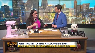 Getting into the Halloween Spirit with Jen the Cake Girl