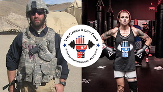 Catch A Lift Fund Is Transforming Wounded Veteran's Lives Through Fitness - Video