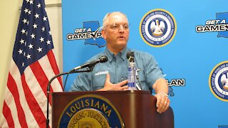 Louisiana Governor Worried About COVID-19 Spike During Laura Recovery