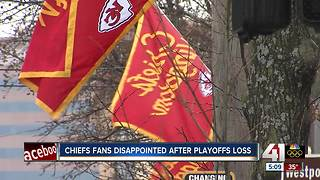 Pain of Chiefs 1st round playoff loss still fresh for fans - Video