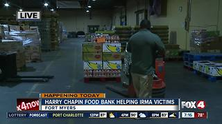 Food bank helping Southwest Florida residents recover from Irma - Video