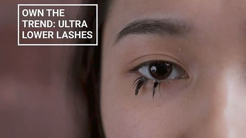 Winter make-up looks: Ultra long lower lash