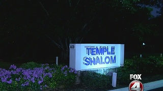 Temple Vandalized - Video