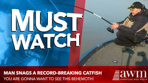 He Struggled To Reel In His Catch, Quickly Realizes It's One In A Million