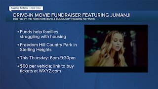 Drive-in movie fundraiser