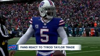 Buffalo Bills trade QB Tyrod Taylor to Cleveland Browns - Video