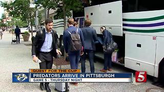 Gearing Up For Game 5: NewsChannel 5 In Pittsburgh - Video