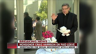 Monsignor Craig Harrison accused of sexual misconduct with minor