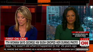 New Accuser Says George H.W. Bush Groped Her During 1992 Presidential Campaign - Video