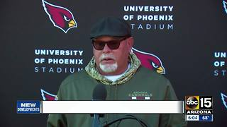 Bruce Arians sends prayers, well wishes to Senator McCain - Video