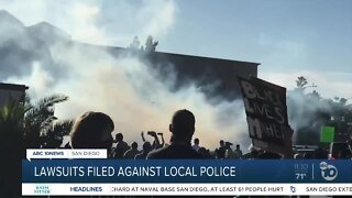 Protesters take legal action against San Diego County law enforcement agencies