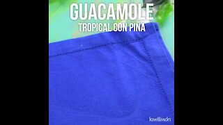 Tropical Guacamole with Pineapple