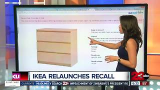 Ikea recalls chests and dressers after 8th child dies - Video