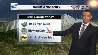 13 First Alert Las Vegas Weather for January 25th Morning - Video
