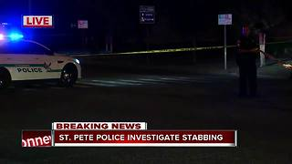 St. Pete Police investigate stabbing - Video