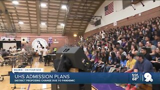 University High School may change its admission requirement