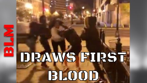 BLM Stabs Bevelyn Beatty & Another Patriot In An AMBUSH   WASHINGTON DC