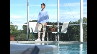 Local boy honored for saving life at pool party