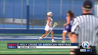 American Heritage defeats Holy Cross 3/27