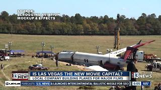 Local company bringing Hollywood movie magic to Las Vegas - Video