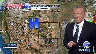 Cold now, but back in the 70s on Thursday - Video