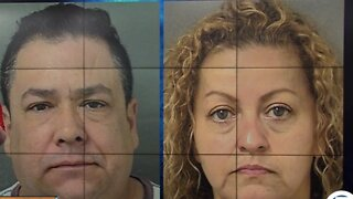 Two people accused of human trafficking