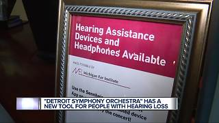 Detroit Symphony Orchestra patrons can now use new hearing assistance technology at Orchestra Hall