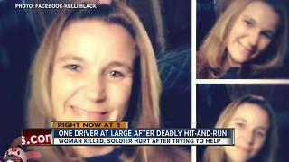 Woman killed, good Samaritan Army soldier injured after hit-and-run crashes in Polk County - Video