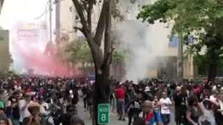 Violence Erupts at Anti-Austerity Rally in Puerto Rico - Video