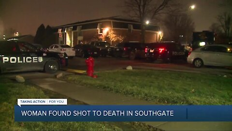 Woman found shot to death in Southgate