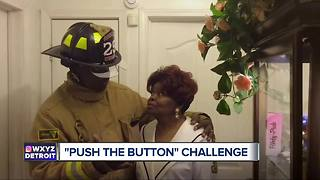 Push-the-button challenge to help elderly family members