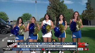 CSUB caravan touring Kern County before academic and athletic year