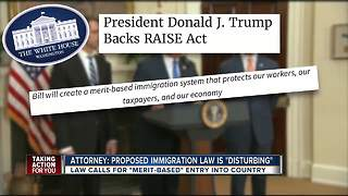 Immigration attorney: President Trump's new immigration law 'disturbing economic discrimination' - Video