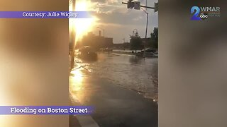 Tuesday storm causes flooding throughout Baltimore City