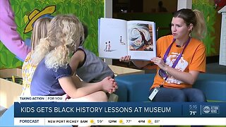 Glazer Children's Museum gives children black history lessons