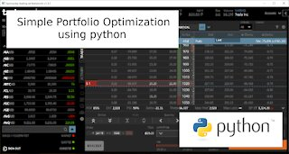 Simple Portfolio Optimization with Python