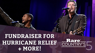 Fundraiser for Hurricane Relief + More | Rare Country's 5 - Video