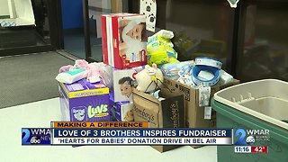 Love of 3 brothers inspires fundraiser