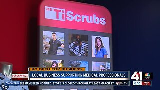 KC medical scrubs company offers discount to local workers